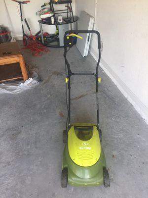 Lawn mower sunjoe for Sale in Lutz, FL