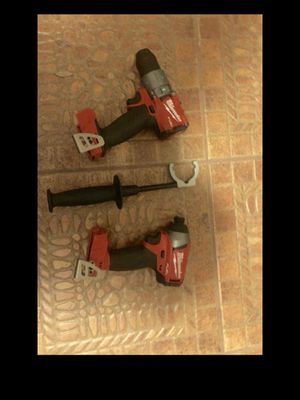 MILWAUKEE FUEL M18 HAMMER AND IMPACT DRILLS TOOL ONLY NO BATTERY NO CHARGER for Sale in Orlando, FL