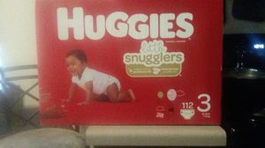 Huggies size 3 diapers for Sale in Clyde Hill, WA