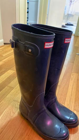 Hunter Boots Matte Navy size 9 for Sale in Lutherville-Timonium, MD