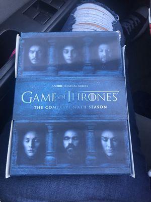 Game of thrones season 6 for Sale in Penn Laird, VA