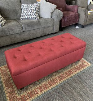 Brand New Burgundy Storage Bench for Sale in Norfolk, VA