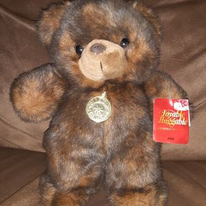 "Collector's Choice 11"" Lovable Huggable Limited Edition #00 Basic Teddy Bear for Sale in Los Lunas, NM"