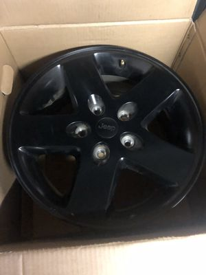 2016 Jeep Wrangler factory wheels for Sale in Garner, NC