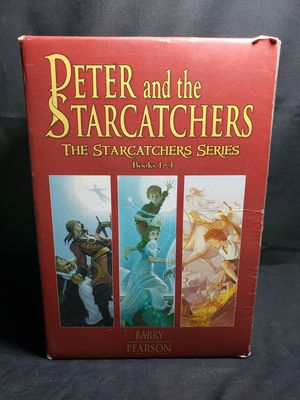Peter and the starcatchers series 1-3 book aet for Sale in Zanesville, OH