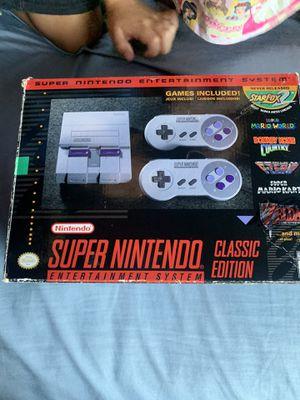 Super Nintendo ness edition classic for Sale in Oakland, CA