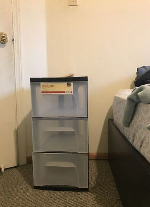 Plastic drawers for Sale in Oakdale, CA