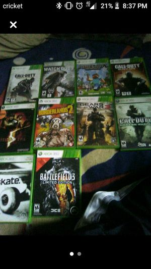 Xbox 360 games for Sale in Orosi, CA