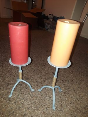 Candle holders and candles for Sale in Clovis, CA