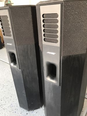 Bose 701 tower speakers works great! Vintage Las Vegas pick up only for Sale in Las Vegas, NV