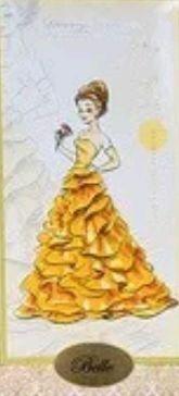 "L.E. Disney Designer Doll ""Belle"" princess"