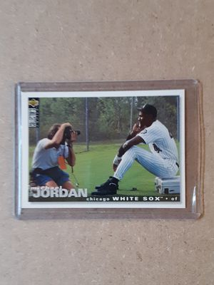 Michael Jordan Baseball Card for Sale in Cherry Hill, NJ