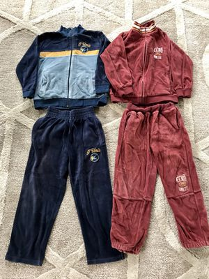 G-unit and ECKO Unltd velour track sports suits for boys. Size 5. for Sale for sale  Franklin Township, NJ