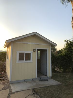 12' x 10' Tuff shed- Office for Sale in Riverside, CA