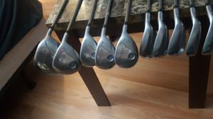 Golf club set miscela clubs and driver Callaway x18 for Sale in Bronx, NY