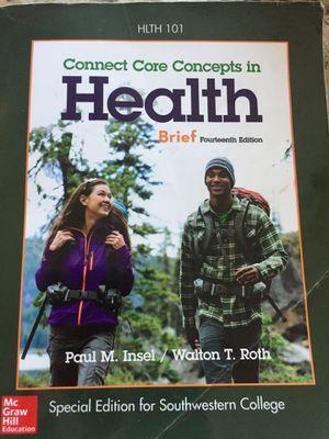 Connect core concept in health ( southwestern college edition) for Sale in Chula Vista, CA