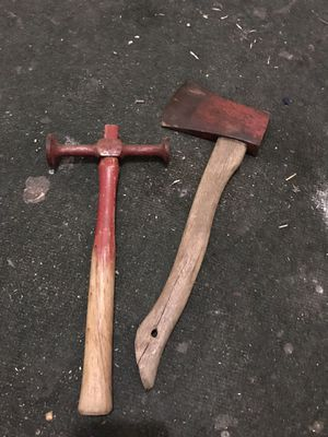 Vintage axe and body shop hammer for Sale in Malden, MA