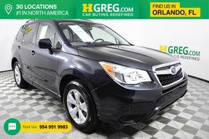 2015 Subaru Forester for Sale in Orlando, FL
