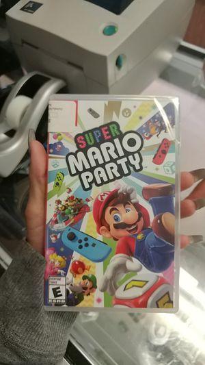 Nintendo super mario party for Sale in Paterson, NJ