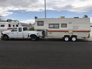 Truck and camper for Sale in Henderson, NV