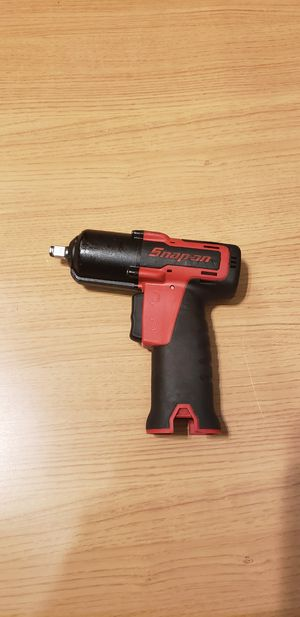"""Snap-On 14.4 v 3/8"""" Drive MicroLithium Cordless impact wrench (tool only) for Sale in Claremont, CA"""