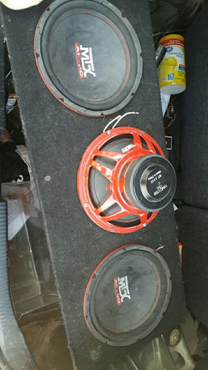 3 mtx 10 inch subs for Sale in Galena, KS