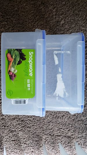 Sanpware airtight plastic storage for Sale in Long Beach, CA