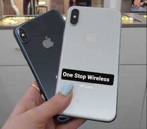 iPhone X 64gb unlocked for Sale in Seattle, WA