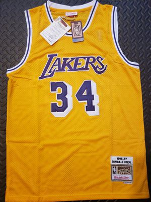 Shaquille O'neal - 96/97 Lakers size L and XL for Sale in Hoffman Estates, IL