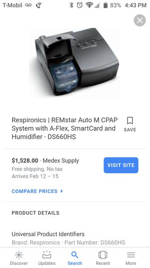 REMstar Plus M Series CPAP machine for Sale in Irwindale, CA