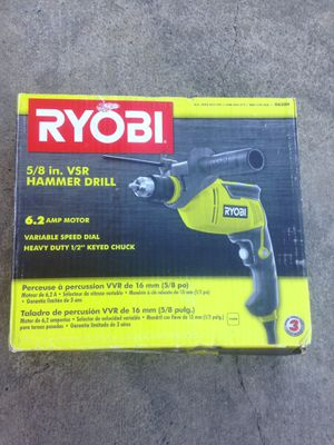 Ryobi 1/2 Electric hammer drill for Sale in Los Angeles, CA
