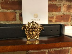 Black Versace Belt *Authentic* for Sale in Queens, NY