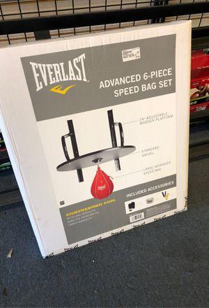 Everlast boxing speed bag set for Sale in Renton, WA