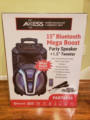 Axess Bluetooth Speaker for Sale in Sterling Heights, MI