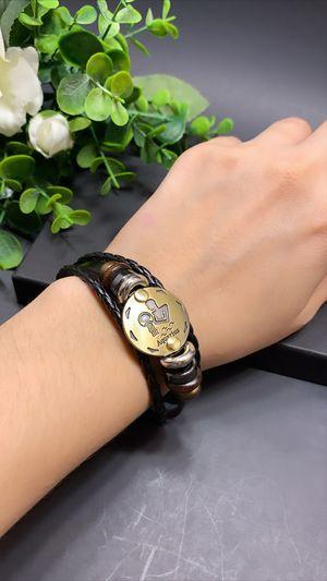 12 Constellations Multilayer Leather Bracelet, Aquarius for Sale in Los Angeles, CA