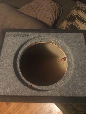 Single speaker box for a 10in for Sale in Avondale, AZ