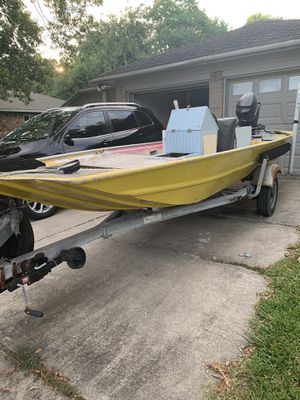 16' aluminum boat for Sale in League City, TX