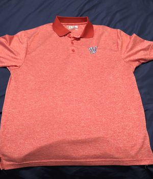 Washington Nationals Men's Polo & T Shirt for Sale in Cloverdale, VA