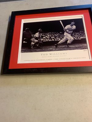 Ted Williams photo from Upper Deck baseball cards for Sale in Seattle, WA