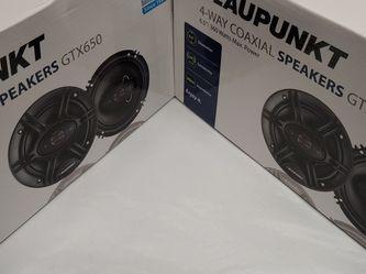 Car speakers : brand new !! 2 Pairs Blaupunkt 6.5 inch 4 way 360 watts car speakers ( brand new ) for Sale in South Gate,  CA