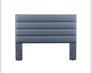 Brand new blue queen or full padded headboard for Sale in Louisville, KY