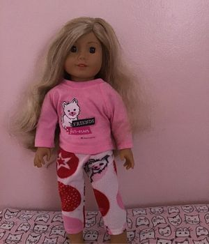 American girl doll comes with pajamas for Sale in Dearborn, MI