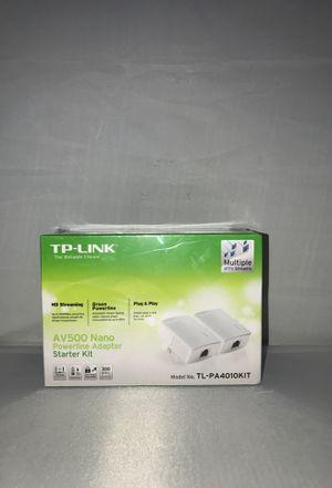 TP-Link AV500 Nano Powerline Adapter Starter Kit for Sale in San Diego, CA
