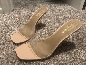Super cute transparent short heels for Sale in Los Angeles, CA