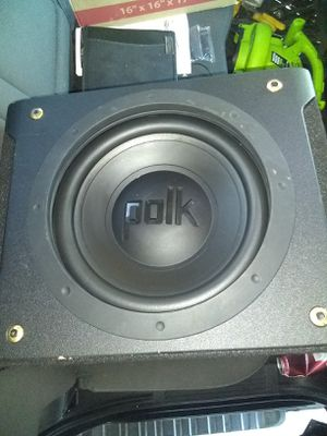 Polk audio 12 inch sub in ported box for Sale in Union City, CA