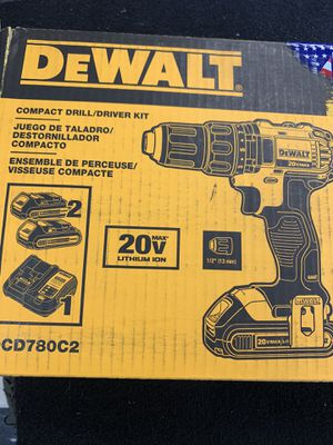 *NEW* 20v drill driver set 2 batteries & charger w/ bag for Sale in Newport News, VA