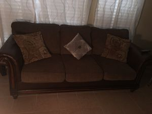Living room set and center tables for Sale in Houston, TX