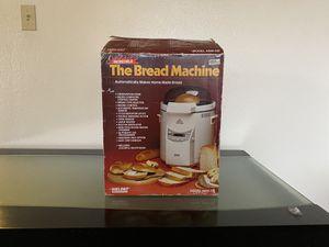 Welbilt THE BREAD MACHINE Electric Bread Maker Digital Settings Model ABM-100-3 for Sale in Corona, CA