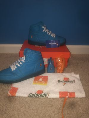 "Jordan 1 Gatorade ""Blue Lagoon"" for Sale in Chapin, SC"