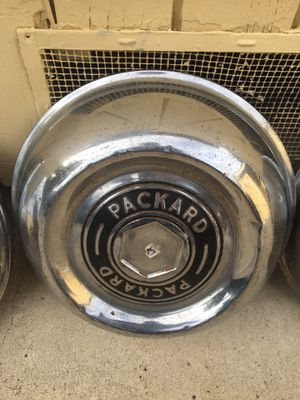 Vintage Packard hub caps for Sale in Fresno, CA